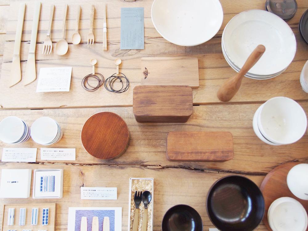 「かぐれ表参道店」おすすめの暮らしの道具・食べるもの3つ