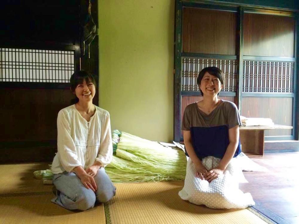 訪れるとキレイになれる?昭和村で「からむし織り」を営み、すはだで暮らす女性のヒミツ