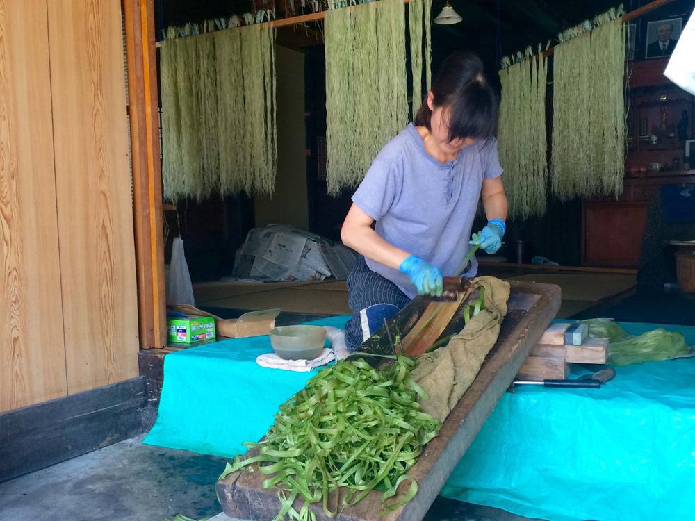 シルクを超える繊維? 福島県昭和村のからむし作りの流れ