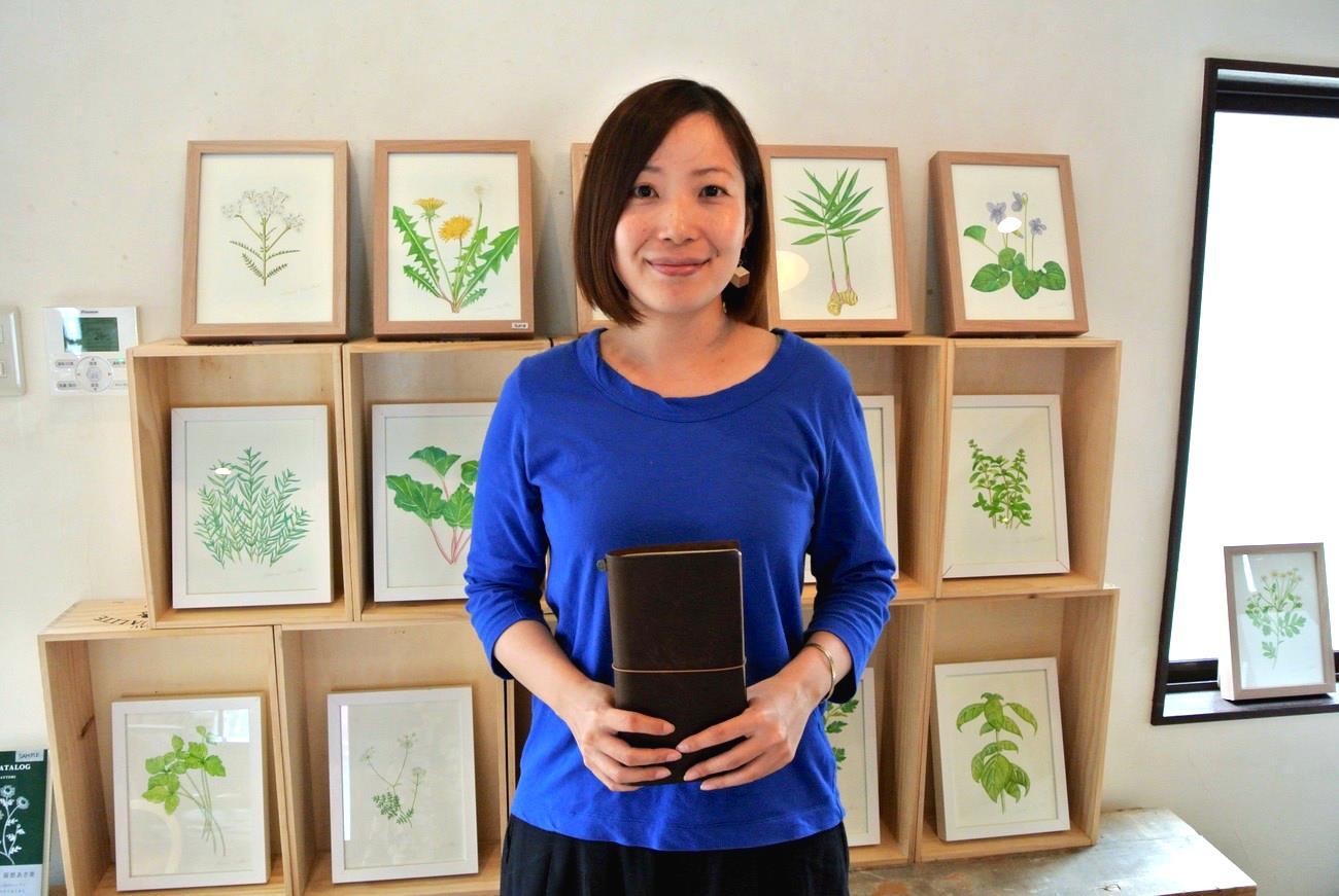 ずっと使い続けられる「トラベラーズノート」の魅力~デザインフィル 橋本美穂さん