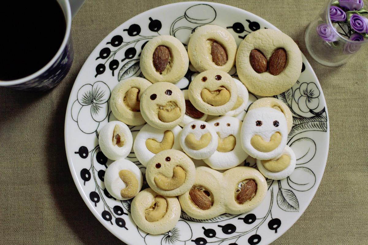 低カロリーで風邪予防にも◎焼くだけ簡単「マシュマロクッキー」|おかわりおやつ