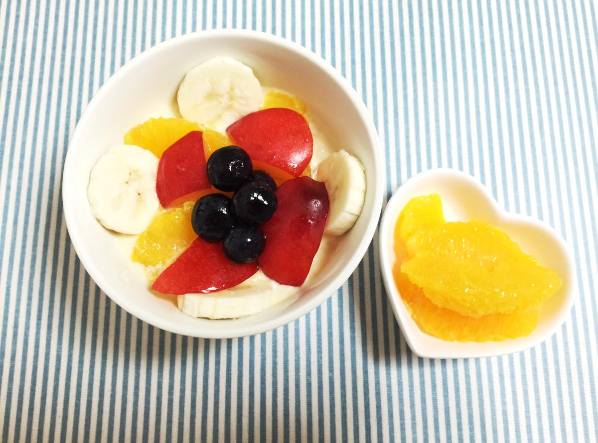 食物繊維たっぷり「オートミールオレンジグルト」は朝ごはんにもピッタリ|おかわりおやつ