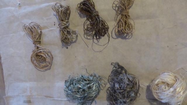 え!まじですか!草から糸って作れるの?