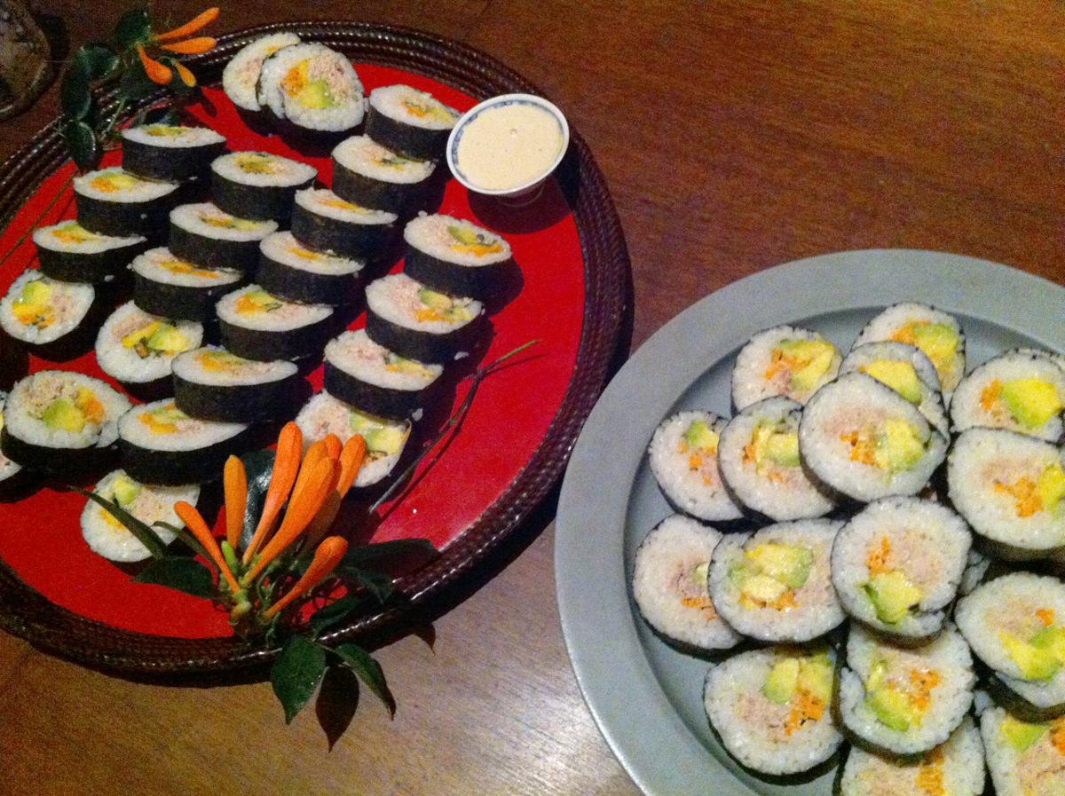 ツナマヨ寿司