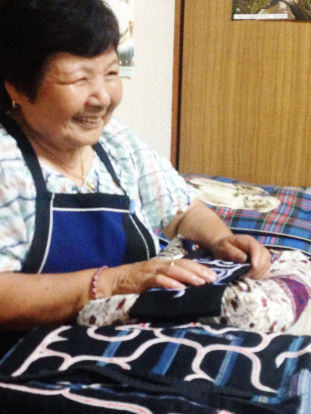 アイヌ民族のおばあちゃん