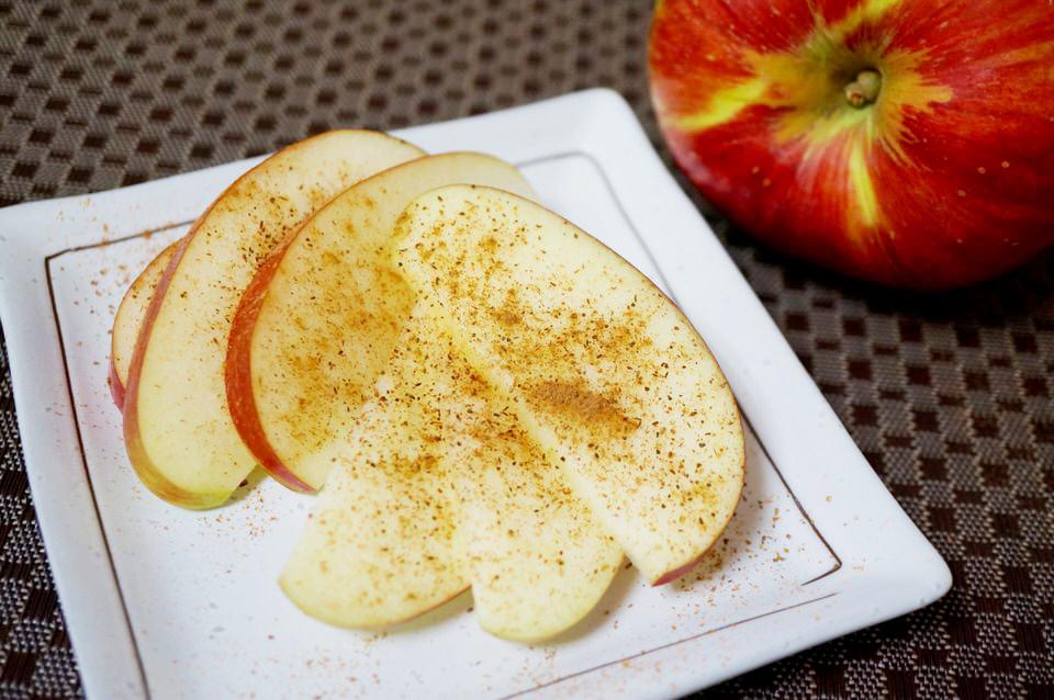シナモン味のリンゴ