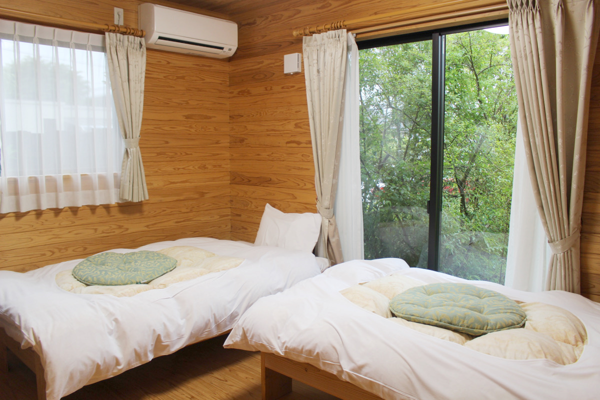 ビオス郷田の寝室