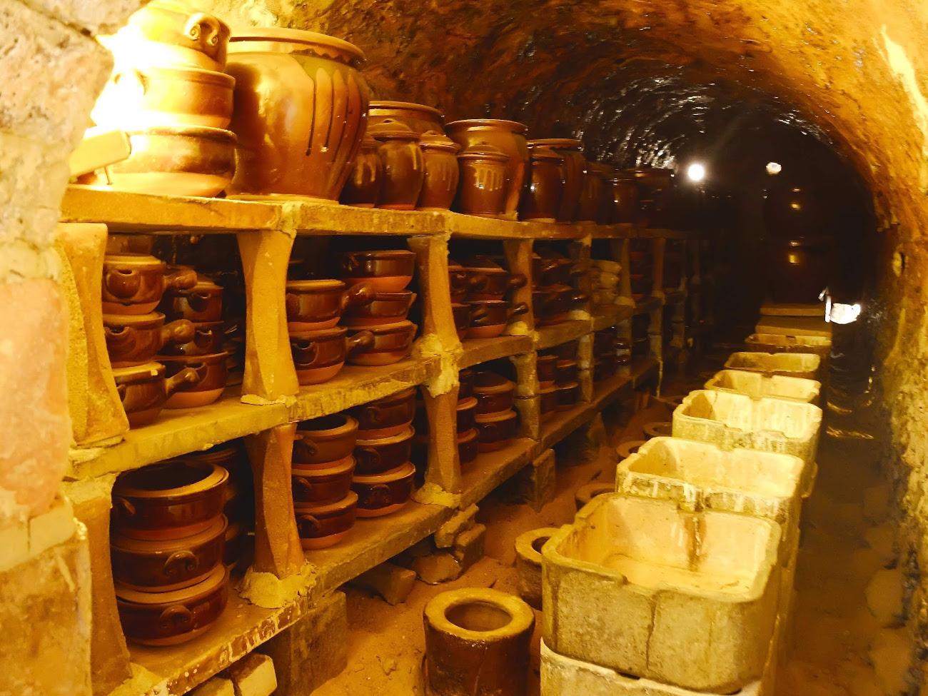 陶器を焼く窯